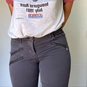 Zara Z1975 • Zip Moto Pants